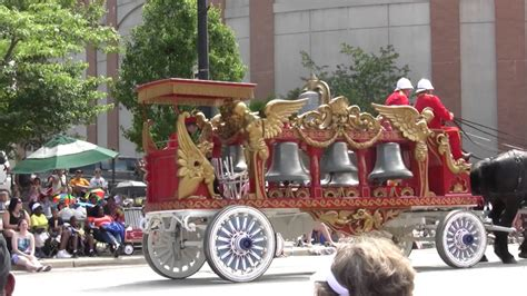 Circus wagon with bells